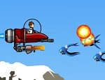 العاب حرب طائرات بن تن