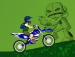 العاب دراجات بن تن النارية
